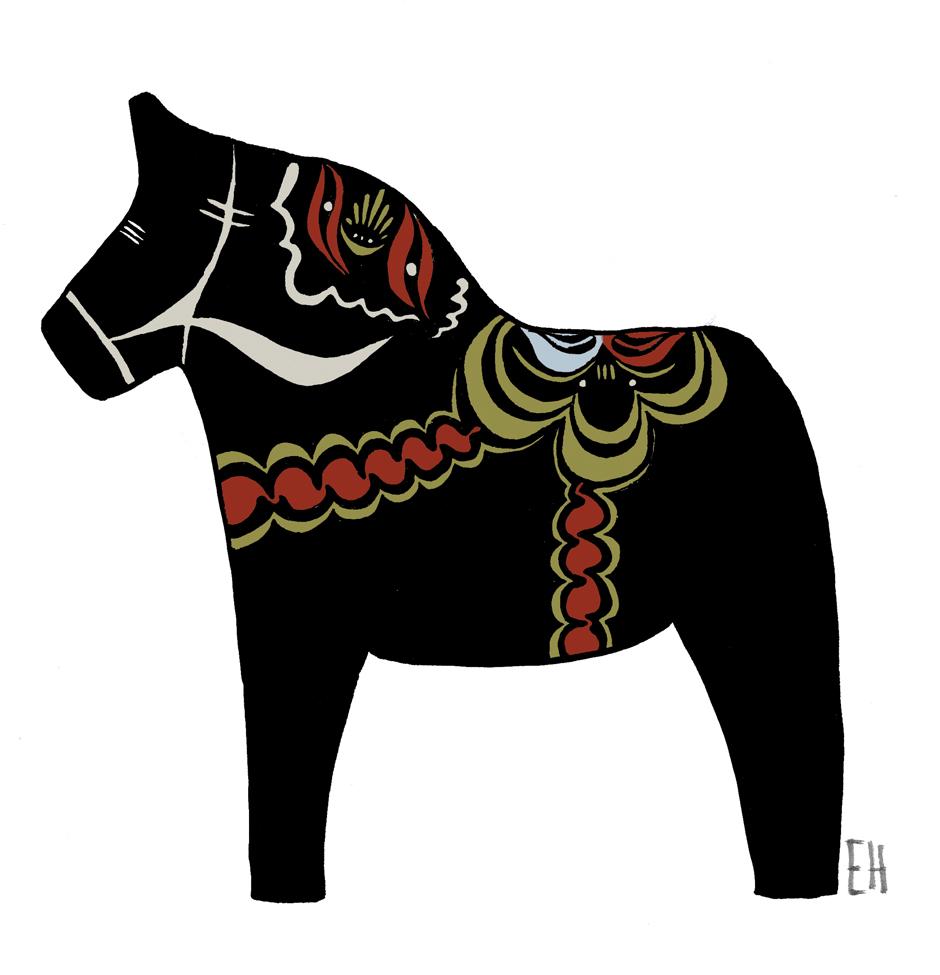 Malins dalahäst